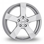 Dezent TD Silver Alloy Wheels