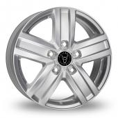 Image for Wolfrace TP5 Silver Alloy Wheels