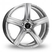 Image for Wolfrace Quinto Silver Alloy Wheels