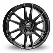 Alutec Monster Black Alloy Wheels
