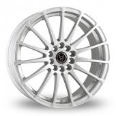 Image for Wolfrace Turismo Silver Alloy Wheels