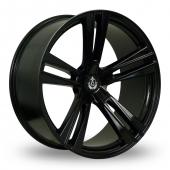 Image for Axe EX21 Black Alloy Wheels