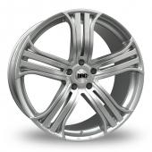 DRC DRR Silver Alloy Wheels