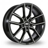 BBS XA Matt Black Alloy Wheels