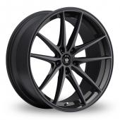 Image for Konig Oversteer Black Alloy Wheels