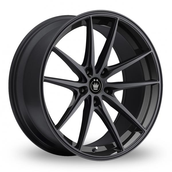 Zoom Konig Oversteer Black Alloys