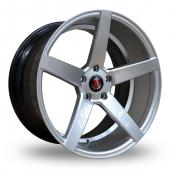 Image for Axe EX18_5x120_Wider_Rear Hyper_Silver Alloy Wheels