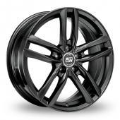 Image for MSW_(by_OZ) 26 Matt_Titanium Alloy Wheels
