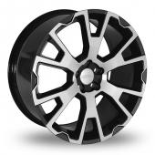 Team Dynamics Balmoral Grey Polished Alloy Wheels
