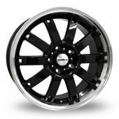 Calibre Boulevard Black Alloy Wheels