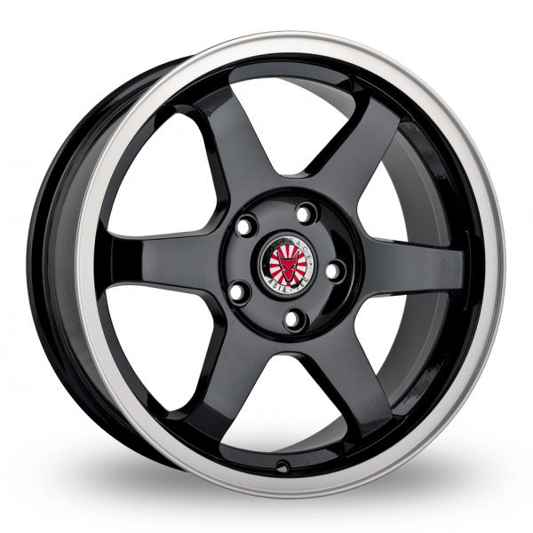 Zoom Wolfrace Asia-Tec_JDM Black_Polished Alloys