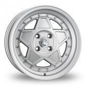 Junk Re'jekt Silver Alloy Wheels