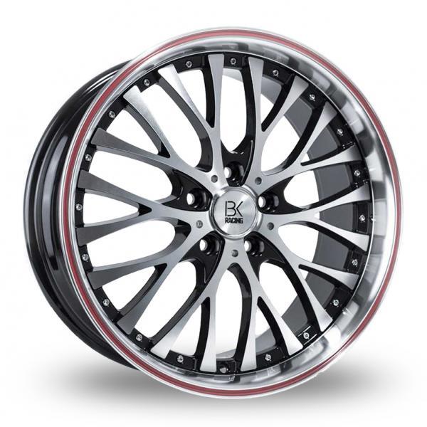 Zoom BK_Racing 861_5x112_Wider_Rear Black_Polished Alloys