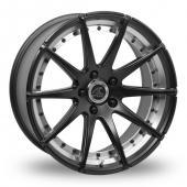 AC Wheels Elysee Matt Black Alloy Wheels