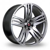 Axe EX22 Hyper Silver Alloy Wheels