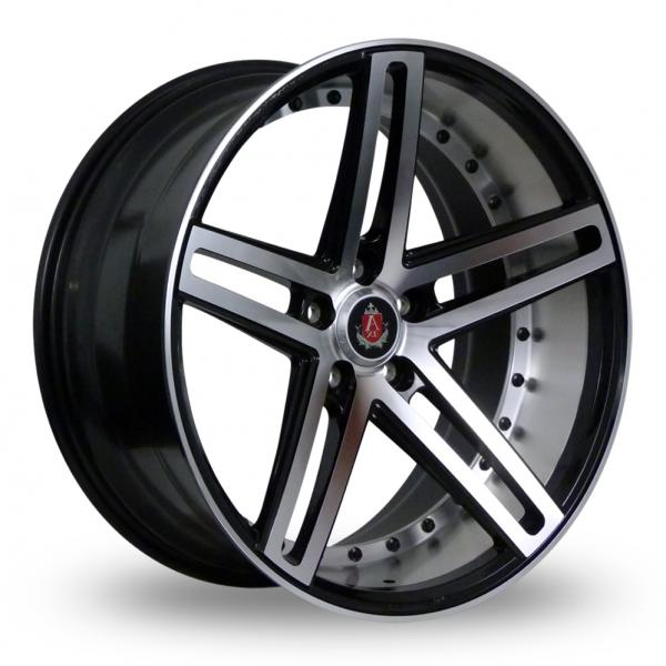 Zoom Axe EX20_5x120_Low_Wider_Rear Black_Polished Alloys