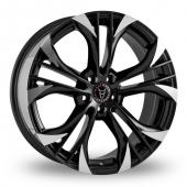 Wolfrace Assassin GT Black Polished Alloy Wheels