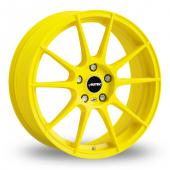 Autec Wizard Yellow Alloy Wheels