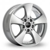 Image for Borbet TB Silver Alloy Wheels