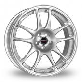 Image for Borbet RS Silver Alloy Wheels