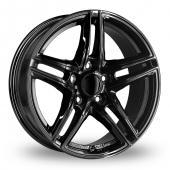 Image for Borbet XR Black Alloy Wheels