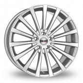 Borbet BLX Silver Alloy Wheels