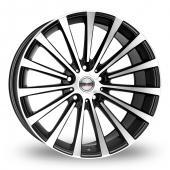 Borbet BLX Black Polished Alloy Wheels