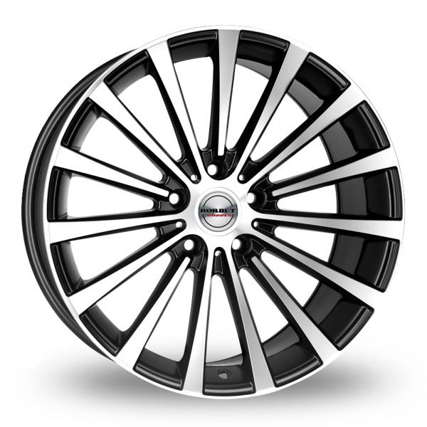 Zoom Borbet BLX_Wider_Rear Black_Polished Alloys