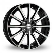 Borbet BL4 Black Polished Alloy Wheels