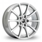 Borbet BL5 Silver Alloy Wheels