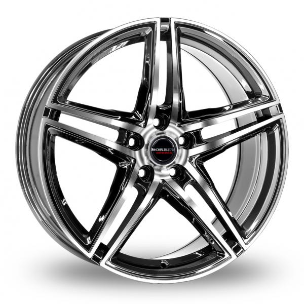 Zoom Borbet XRT_Wider_Rear Black_Polished Alloys