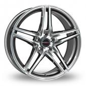 Image for Borbet XRT_Wider_Rear Graphite_Polished Alloy Wheels