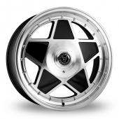 Image for Wolfrace Roadstar Black_Polished Alloy Wheels