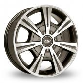 Image for CW_(by_Borbet) CH Anthracite_Polished Alloy Wheels