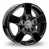 CW by Borbet CWF Black Alloy Wheels
