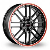Image for CW_(by_Borbet) CW2_R_4 Black_Red Alloy Wheels