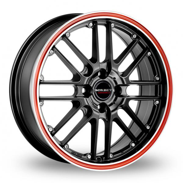 Zoom CW_(by_Borbet) CW2_R_4 Black_Red Alloys