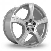 Image for Ronal R55 Silver Alloy Wheels