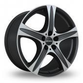 Image for Ronal R55 Matt_Black Alloy Wheels