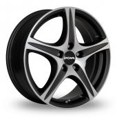 Image for Ronal R56 Black_Polished Alloy Wheels
