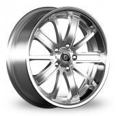 Diewe Sogno Silver Alloy Wheels