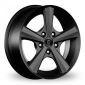 Diewe Bellina Black Alloy Wheels