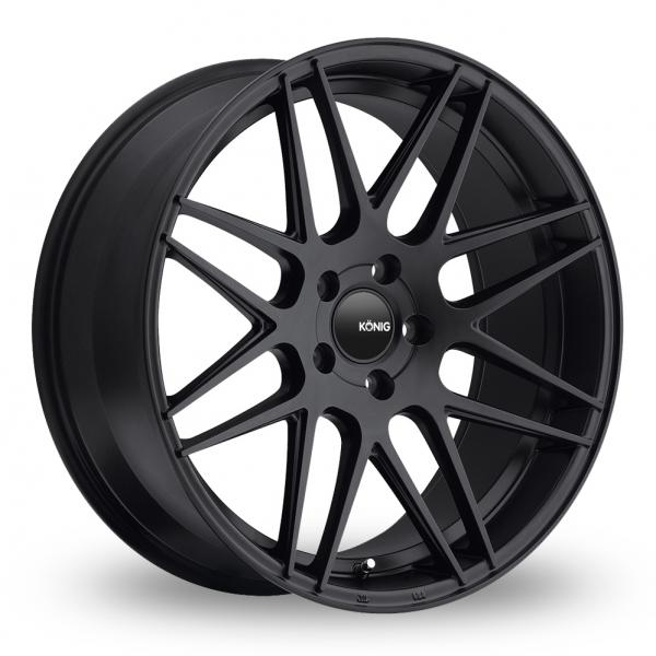 Zoom Konig Integram_5x114_Wider_Rear Matt_Black Alloys