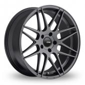 Image for Konig Integram_5x100_Wider_Rear Graphite Alloy Wheels