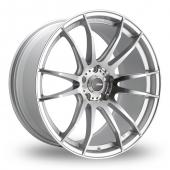 Image for Konig Torch_5x114_Wider_Rear Silver_Polished Alloy Wheels