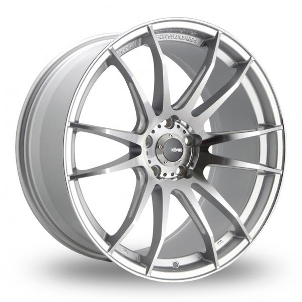Zoom Konig Torch_5x114_Wider_Rear Silver_Polished Alloys