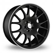 Image for Dare DR-CH Matt_Black Alloy Wheels