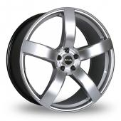 Image for Riva FWD Hyper_Silver Alloy Wheels