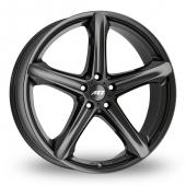AEZ Yacht Black Alloy Wheels