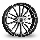 Image for Dotz Fast_Fifteen_5x120_Wider_Rear Black_Polished Alloy Wheels
